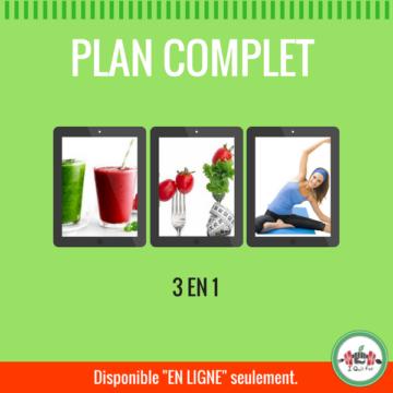 plan complet I Quit Fat - Détox, nutrition et conditionnement physique - iquitfat.ca